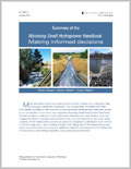 Summary of the Wyoming Small Hydropower Handbook: Making Informed Decisions