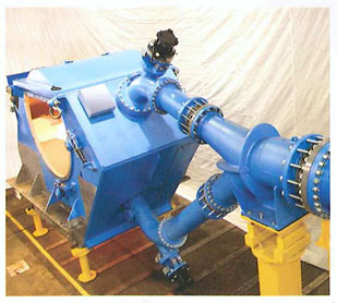 Two Jet Pelton Turbine