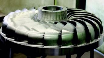 Figure 36: Turgo Turbine RunnerSource: Gilkes Hydropower Systems